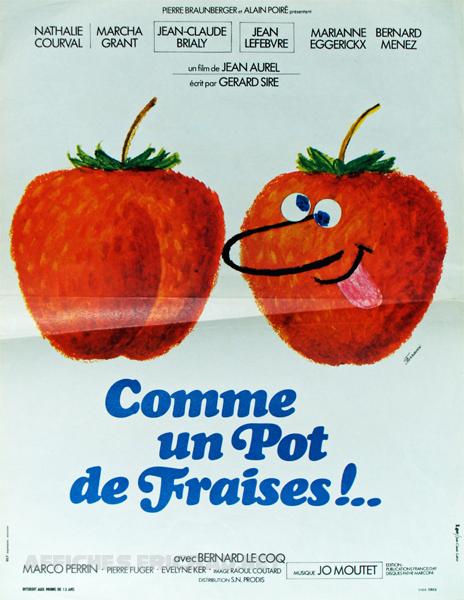 Comme un pot de fraises !..