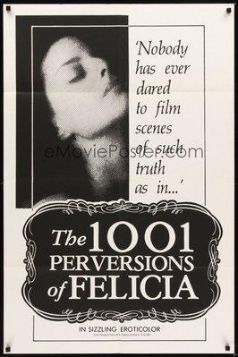 Las Mil y unas perversiones de Felicia - Poster Canada