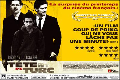 Tête de turc galardonada en el 34 Festival de Cine de Montreal