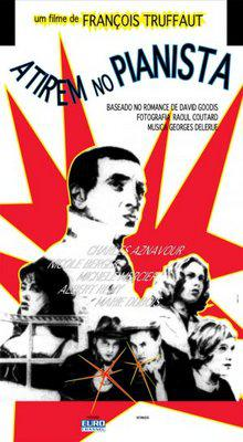 ピアニストを撃て - Poster Brésil