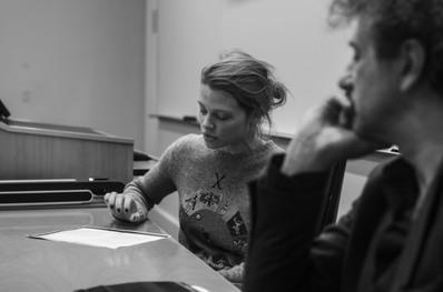 Exito histórico de la edición 2018 de los Rendez-Vous con el Cine Francés de Nueva York - Mélanie Thierry lit - © @Jean-Baptiste Le Mercier/UniFrance