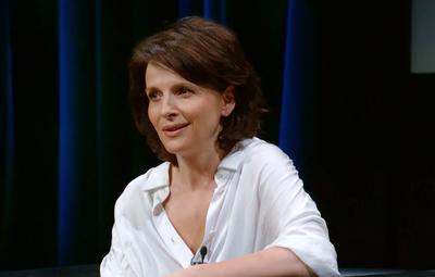 Conversación con Juliette Binoche en el Festival de Toronto