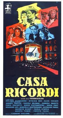 Casa Ricordi - Poster Italie