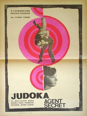 Judoka-Secret Agent - Poster Roumanie