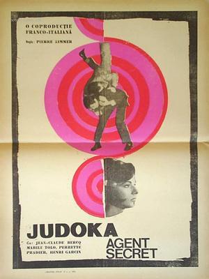 Le Judoka, agent secret - Poster Roumanie