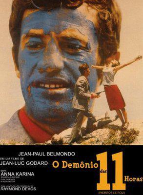 Pierrot le Fou - Poster Brésil