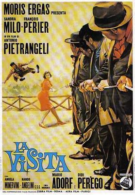 The Visitor - Poster - Italy