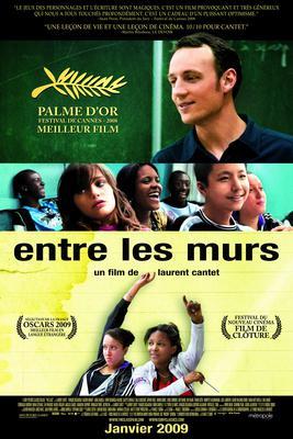 Entre les murs / パリ20区、僕たちのクラス - Affiche Québec
