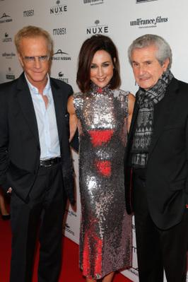 Toronto International Film Festival in pictures - Christophe Lambert, Elsa Zylberstein et Claude Lelouch - © UniFrance films