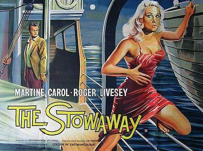 The Stowaway - Poster Angleterre