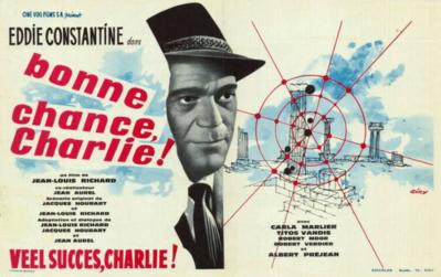 Bonne chance Charlie - Poster Belgique