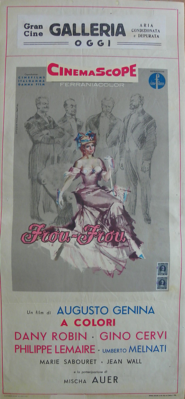 The Girl from Paris / The Toy Wife - Poster Italie