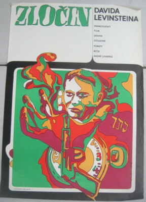 Le Crime de David Levinstein - Poster Pologne