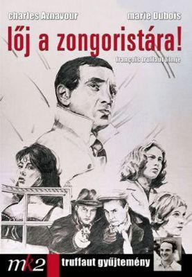 ピアニストを撃て - Poster Hongrie