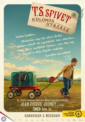L'Extravagant Voyage du jeune et prodigieux T. S. Spivet - Poster - Hungary