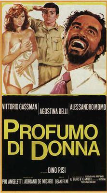 Parfum de femme - Poster Italie