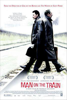 L'Homme du train - Poster UK