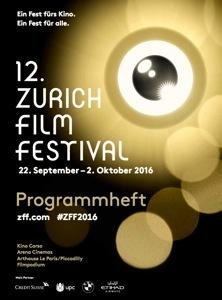 Festival Internacional de cine de Zurich  - 2016