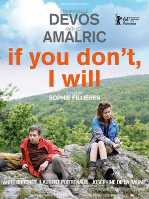 If You Don't I Will - Affiche internationale