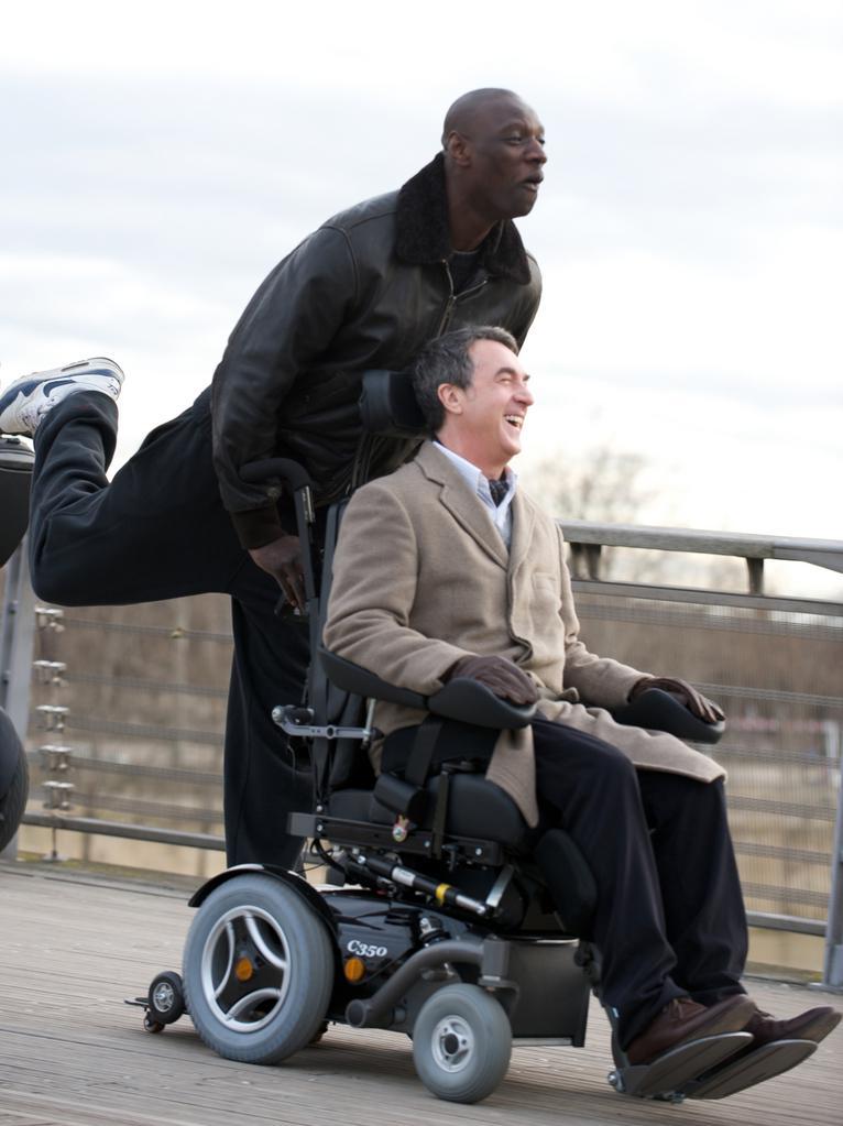 Intouchables 2010 unifrance films - Pelicula francesa silla ruedas ...