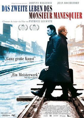列車に乗った男 - Poster Allemagne