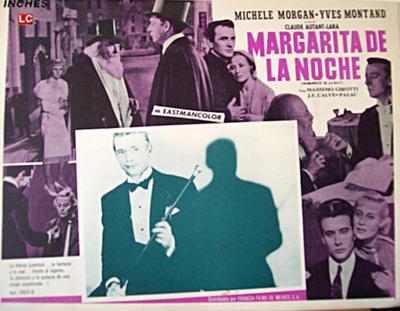 Margarita de la noche - Affiche espagnole