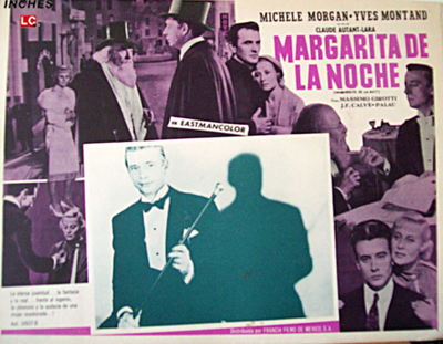 Marguerite de la nuit - Affiche espagnole