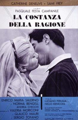Avec amour et avec rage - Poster - Italie