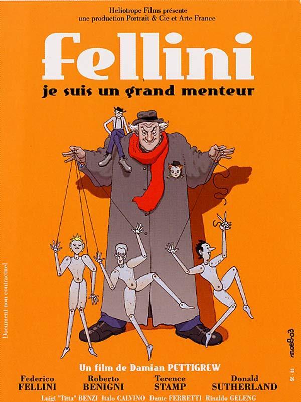 Fellini, je suis un grand menteur