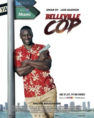 Belleville Cop - Poster - Germany