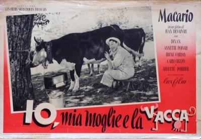 Ma femme, ma vache et moi - Poster Italie