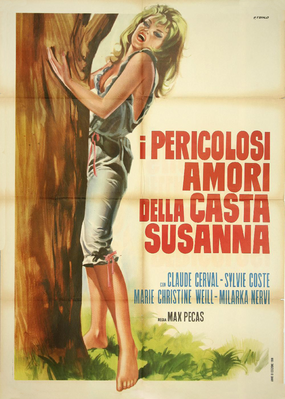 La Peur et l'amour - Poster Italie