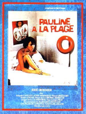 Pauline à la plage - Poster - France