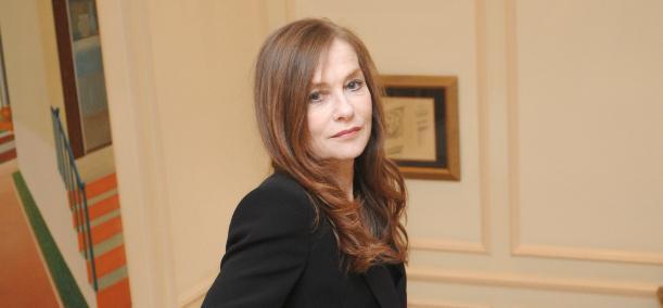 Isabelle Huppert honored at the Chicago International Film Festival