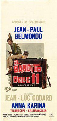 Pierrot le Fou - Poster Italie