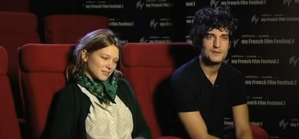 Interview Louis Garrel / Léa Seydoux