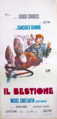 Deux grandes gueules - Poster - Italie