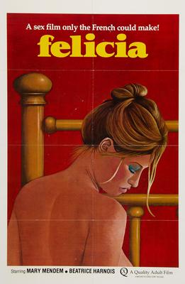 Les Mille et une perversions de Felicia - Poster Etats-Unis