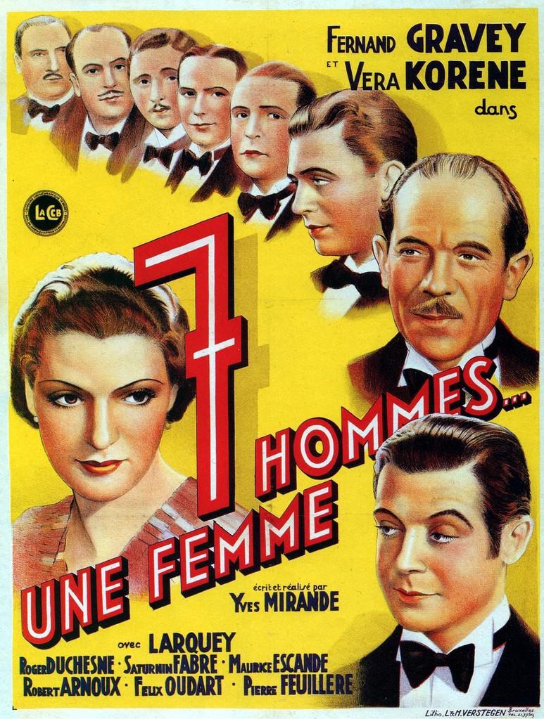 7 hommes... une femme