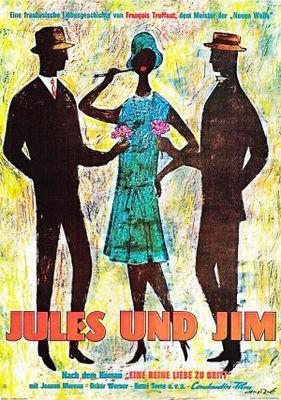 Jules y Jim - Poster Allemagne