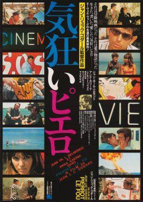 Pierrot le Fou - Poster Japon