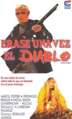 Il était une fois le Diable - Devil Story - JAquette VHS Espagne