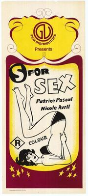 S for Sex - Poster - US