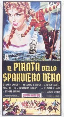 Le Pirate de l'Epervier noir - Italy