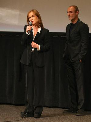 Rendez-Vous With French Cinema à New York - 2016 - Isabelle Huppert et Guillaume Nicloux
