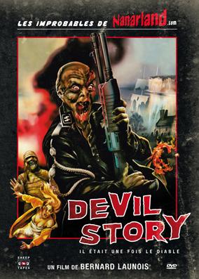 Il était une fois le Diable - Devil Story - Jaquette DVD France