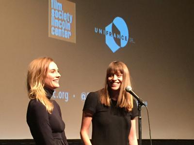 Rendez-Vous With French Cinema en Nueva York - 2016 - Diane Kruger et Alice Winocour