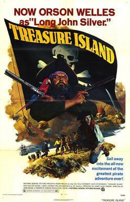 La Isla del tesoro - Poster Royaume-Uni