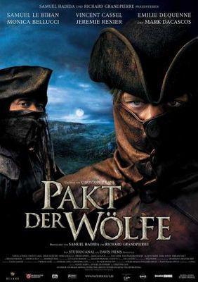 Le Pacte des loups - Poster Allemagne