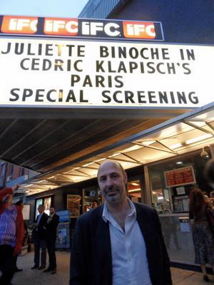 On Set with Juliette Binoche in New York